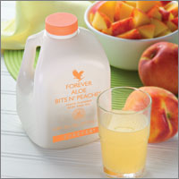Aloe Bits and Peaches od Forever Living Products