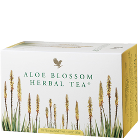 Aloe Blossom Herbal Tea čaj z lístkov kvetu aloe vera